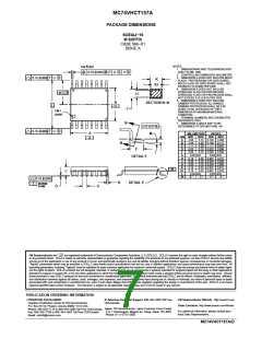 浏览型号MC74VHCT157AMG的Datasheet PDF文件第7页
