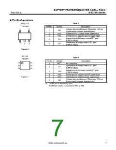 浏览型号S-8211CAB-M5T1G的Datasheet PDF文件第7页