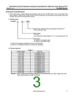 浏览型号S-L2985B26-H4T1的Datasheet PDF文件第3页