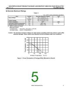 浏览型号S-L2985B26-H4T1的Datasheet PDF文件第5页