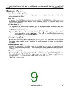 浏览型号S-L2985B26-H4T1的Datasheet PDF文件第9页