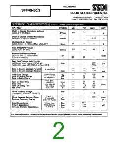 浏览型号SFF40N30/3的Datasheet PDF文件第2页