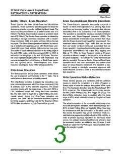 浏览型号SST36VF3204-70-4E-B3KE的Datasheet PDF文件第3页