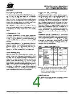 浏览型号SST36VF3204-70-4E-B3KE的Datasheet PDF文件第4页