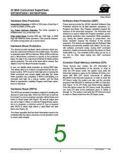 浏览型号SST36VF3204-70-4E-B3KE的Datasheet PDF文件第5页