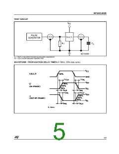 浏览型号M74HC4028B1R的Datasheet PDF文件第5页