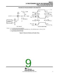 浏览型号MAX211CDBG4的Datasheet PDF文件第9页