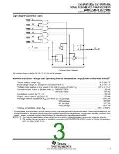 浏览型号SN74ABT543APWE4的Datasheet PDF文件第3页