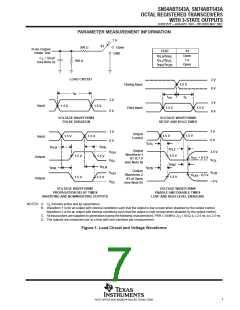 浏览型号SN74ABT543APWE4的Datasheet PDF文件第7页