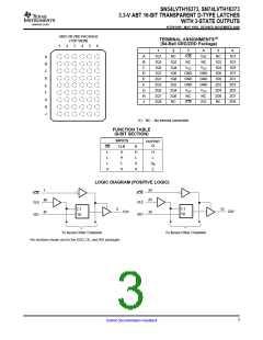 浏览型号SN74LVTH16373DLRG4的Datasheet PDF文件第3页