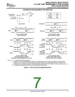 浏览型号SN74LVTH16373DLRG4的Datasheet PDF文件第7页
