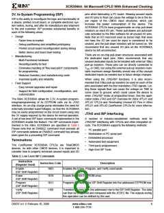 浏览型号XCR3064A-12VQ100C的Datasheet PDF文件第8页