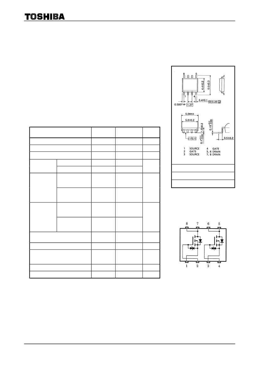 TOSHIBA TPC8303 SOP-8 TOSHIBA Field Effect Transistor
