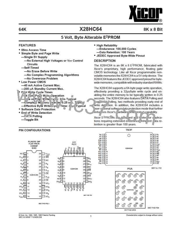 X28HC64DI-70图片预览