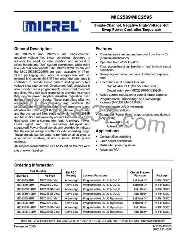 MIC2595R-1BM图片预览