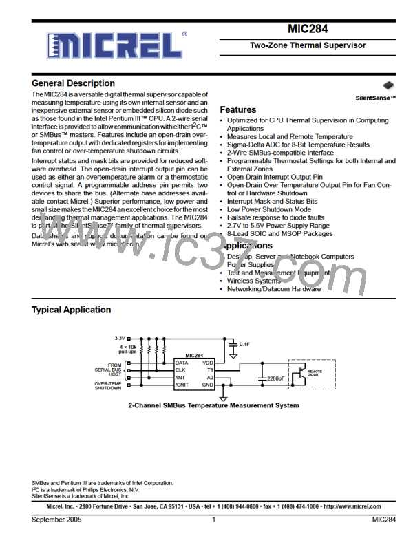 MIC284-2BM图片预览