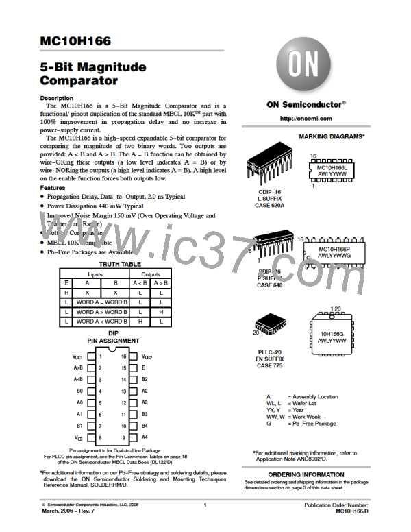 MC10H166FNR2G图片预览