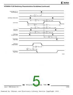 浏览型号XC3042-50PG132I的Datasheet PDF文件第5页