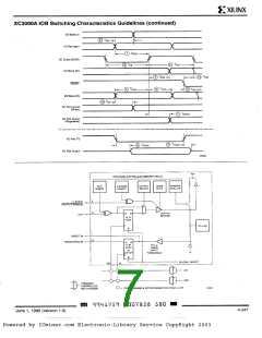浏览型号XC3042-50PG132I的Datasheet PDF文件第7页