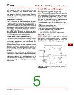浏览型号XC5202-5PQ100I的Datasheet PDF文件第5页