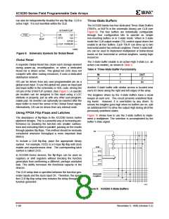 浏览型号XC5202-5PQ100I的Datasheet PDF文件第8页