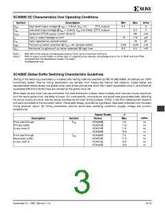 浏览型号XC4005E-1PC84I的Datasheet PDF文件第3页