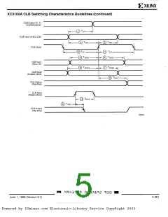 浏览型号XC3164-4PP132C的Datasheet PDF文件第5页