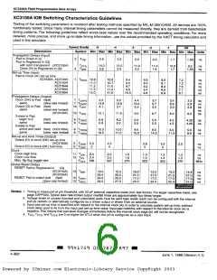 浏览型号XC3164-4PP132C的Datasheet PDF文件第6页