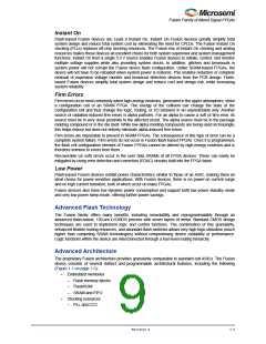 浏览型号M1AFS1500-2FGG256I的Datasheet PDF文件第9页