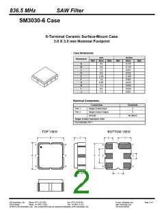 浏览型号SF1182B的Datasheet PDF文件第2页
