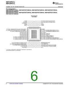 浏览型号MSP430FR5732IRGER的Datasheet PDF文件第6页