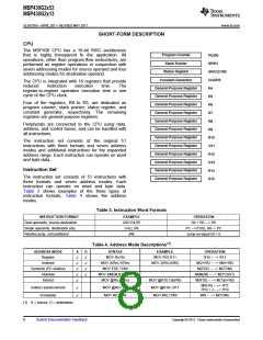 浏览型号MSP430G2513IN20的Datasheet PDF文件第8页