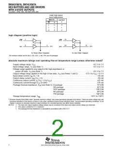 浏览型号SN74LV367ADGVRG4的Datasheet PDF文件第2页