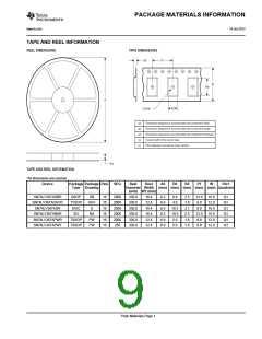 浏览型号SN74LV367ADGVRG4的Datasheet PDF文件第9页