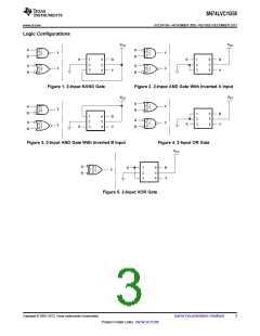 浏览型号SN74LVC1G58DBVRE4的Datasheet PDF文件第3页