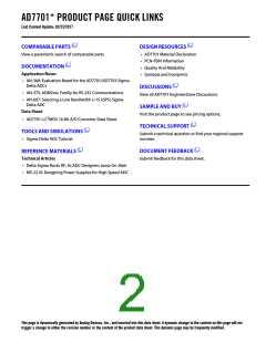 浏览型号AD7701ARS-REEL的Datasheet PDF文件第2页