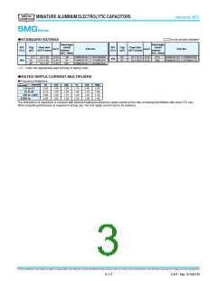 浏览型号ESMG100ELL682ML25S的Datasheet PDF文件第3页
