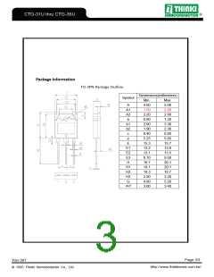 浏览型号CTG-31U的Datasheet PDF文件第3页