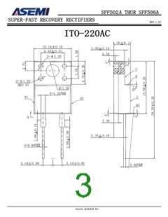 浏览型号SFF506A的Datasheet PDF文件第3页