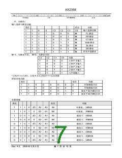 浏览型号AX2358的Datasheet PDF文件第7页